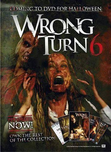 فيلم الرعب الرائع Wrong Turn 6 Last Resort 2014 DVDRip مترجم تحميل ...imdb