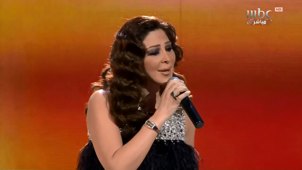 اليسا فى برنامج عرب ايدول حلقة يوم السبت 3/3/2012