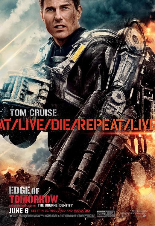 Edge of Tomorrow 2014 720p HDTS مترجم