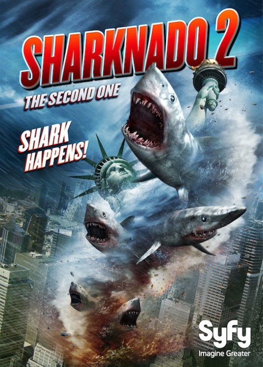 Sharknado 2 - The Second One 2014 BluRay 720p مترجم